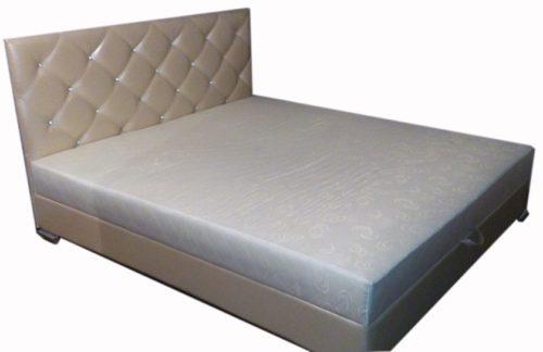 кровать с матраом №1