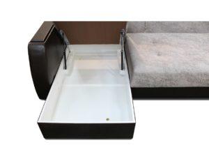 короб для белья в диване уговом в оттоманке