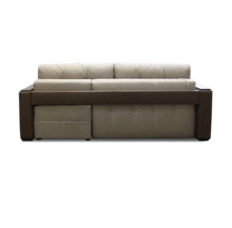 диван кровать вид сзади