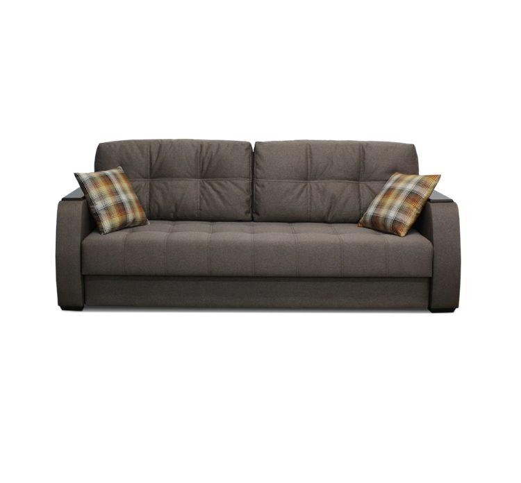 Прямой диван кровать на НПБ механизм пантограф