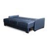 разложенный диван на металлокаркасе