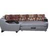 угловой диван разложенный