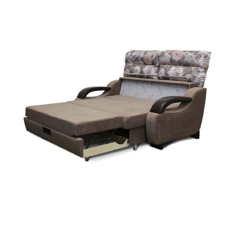 диван высоковыкатной разложенный