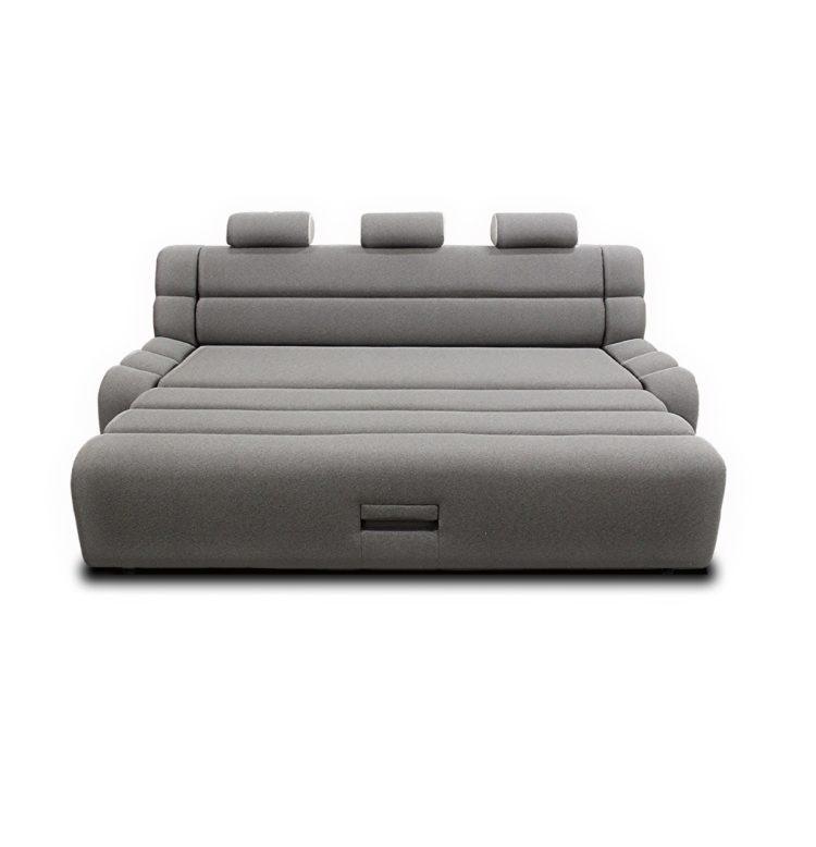 диван разложенный спальное место