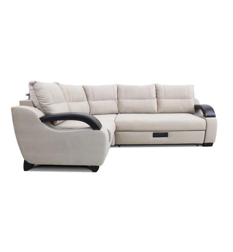 угловой диван на независимых пружинах